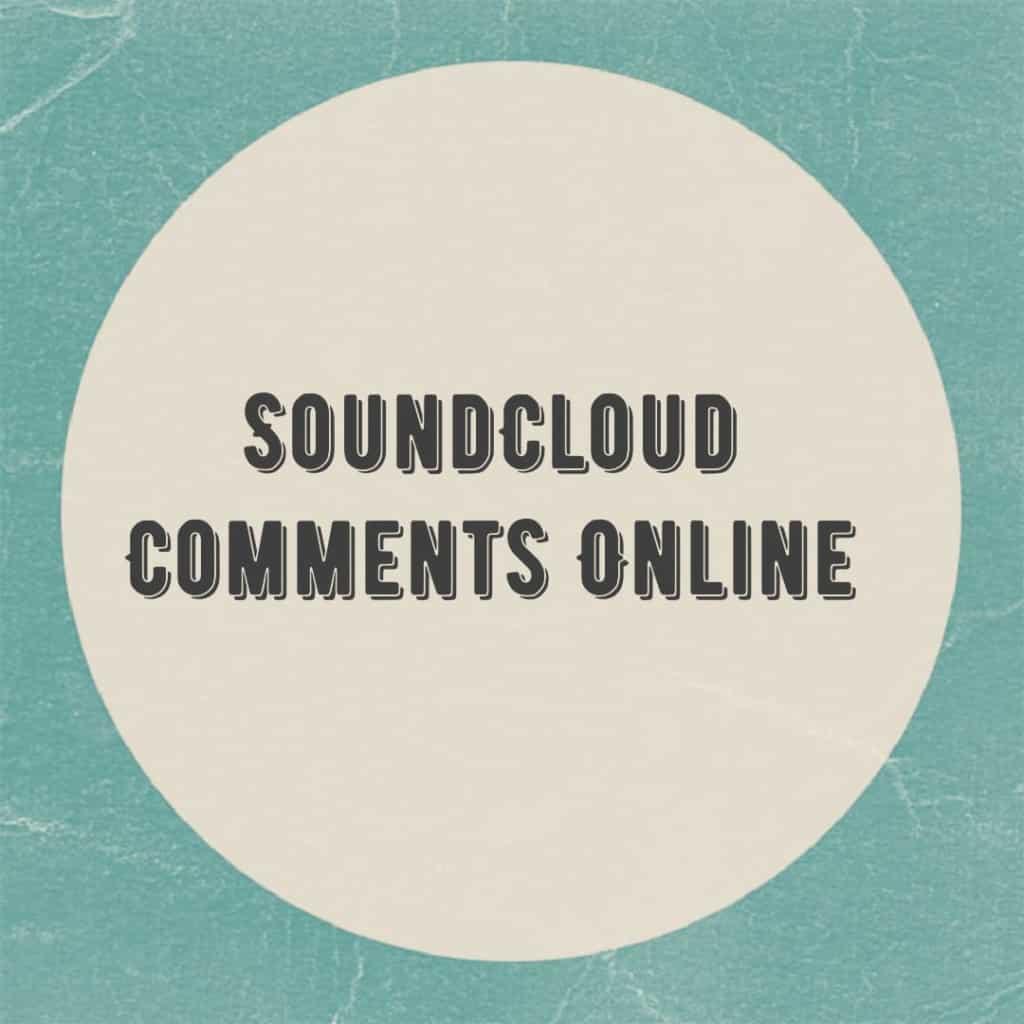 soundcloud comments for podcasts online
